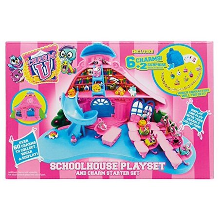 13991 Schoolhouse Playset Charm U (Play Schoolhouse)