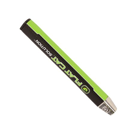 NEW Lamkin Flat Cat Solution Standard Weighted Black/Lime Putter