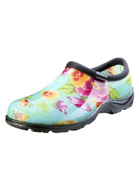 f3b9ef1f0028 Product Image Sloggers Women s Waterproof Comfort Shoes - Turquoise Pansy  Print