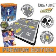 DDR Bundle Multi-Platform Super Sensors Energy Super Deluxe Dance Pad (PS, PS2, XBox, PC, Mac) +  Game Ultramix 2 XBOX