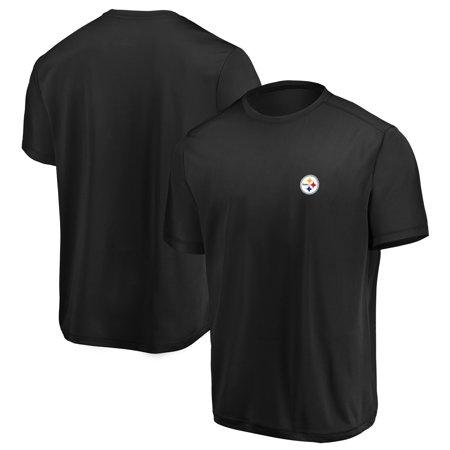 Pittsburgh Steelers Logo Charm (Pittsburgh Steelers Majestic Showtime Logo Cool Base T-Shirt - Black)