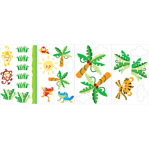 Fisher Price - Rainforest Repositionable Wall Accents