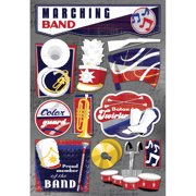 Karen Foster KF11581 Cardstock Stickers-Marching Band