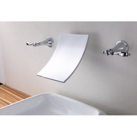 Sumerain International Group Wall Mount Waterfall Bathroom Sink