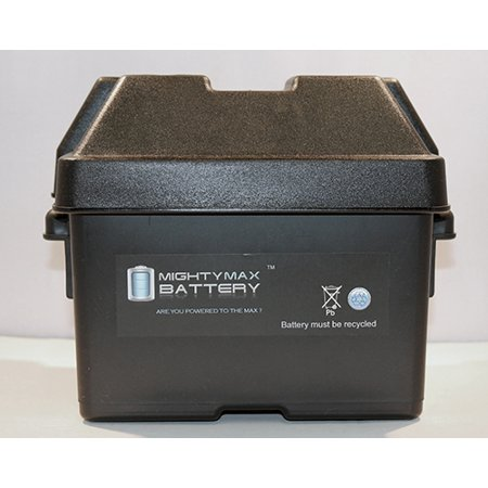 Group U1 Sla   Gel Battery Box For Kayaks Trolling Motor