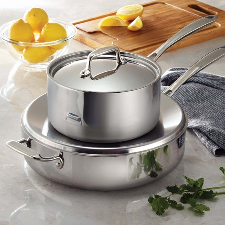 Tramontina Stainless Steel Tri-Ply Clad 2 Item