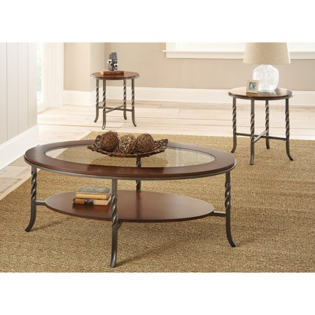 Steve Silver Vance 3 Piece Occasional Table Set