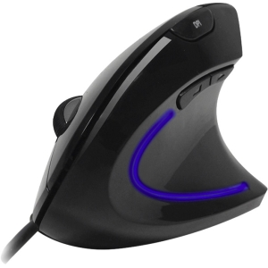 Adesso iMouse E1 Wired Vertical Ergonomic Illuminated Mouse