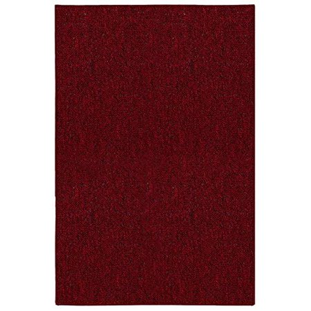 Galaxy Way Pet Friendly Indoor Outdoor Area Rugs Red - 5'x7' ()