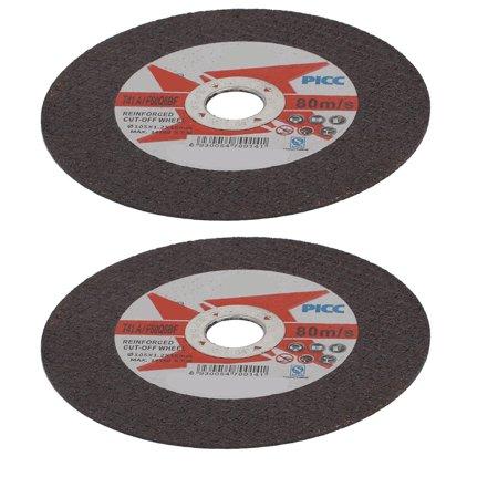 Black & Decker Grinding Wheel (105mmx1.2mm Cutting Wheel Grinding Cut Off Disc Black 2pcs)