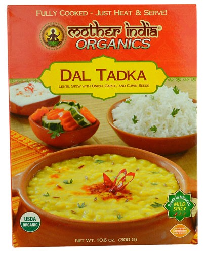 Great Eastern Sun Mother India Organics Dal Tadka 10.6 oz by Great Eastern Sun