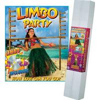 6' Bamboo Limbo Kit, includes Music