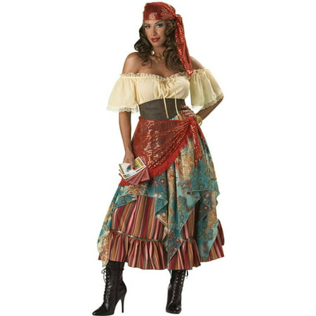 Fortune Teller Adult Halloween Costume (Fortune Teller Halloween)