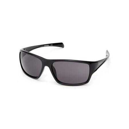Harley-Davidson Men's H-D Kickstart Sunglasses, Shiny Black Frame & Smoke Lens, Harley Davidson ()