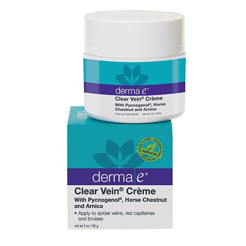 Derma-E Clear Vein Creme Spider Vein And Bruise Solution,...