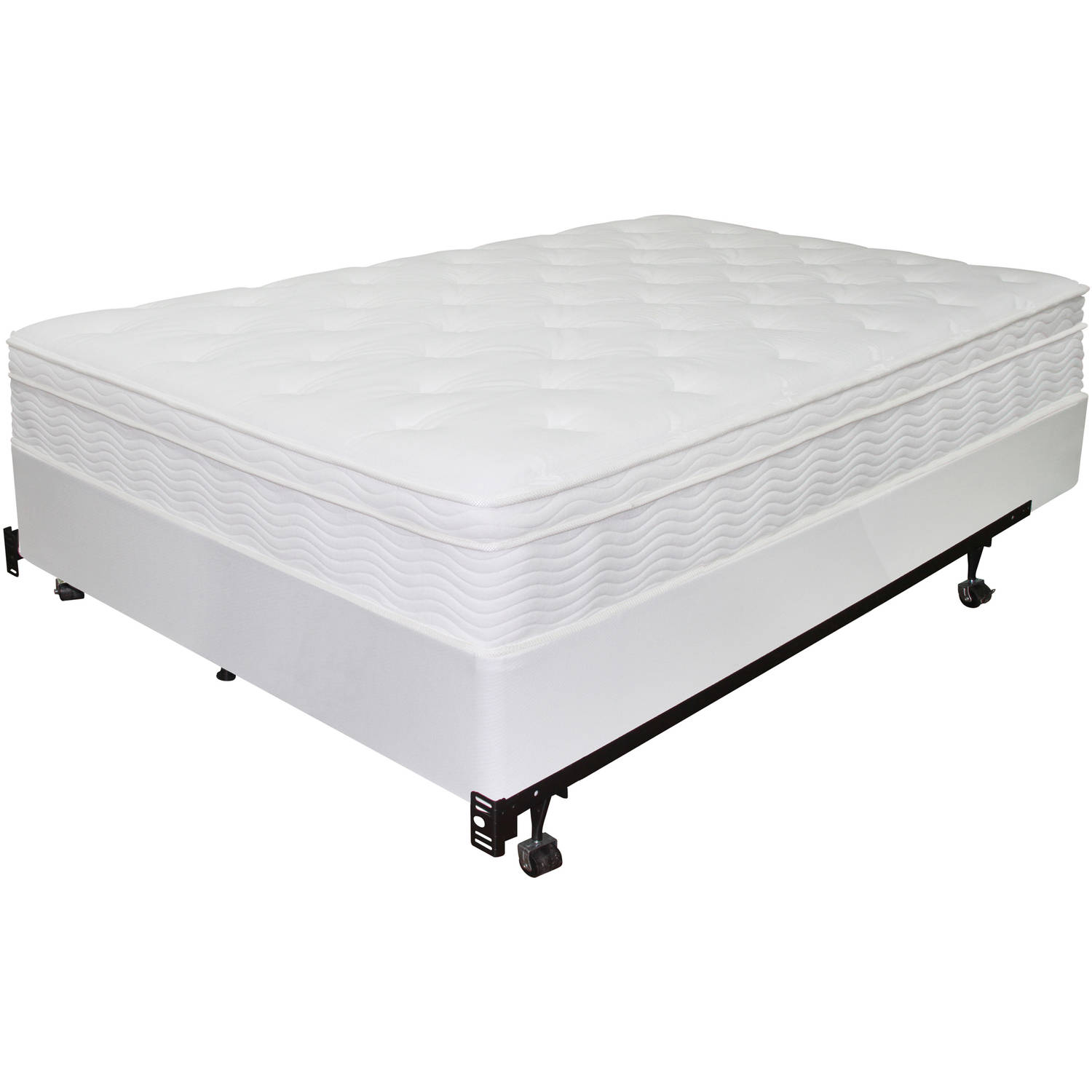 spa sensations 75 high bi fold box spring walmartcom