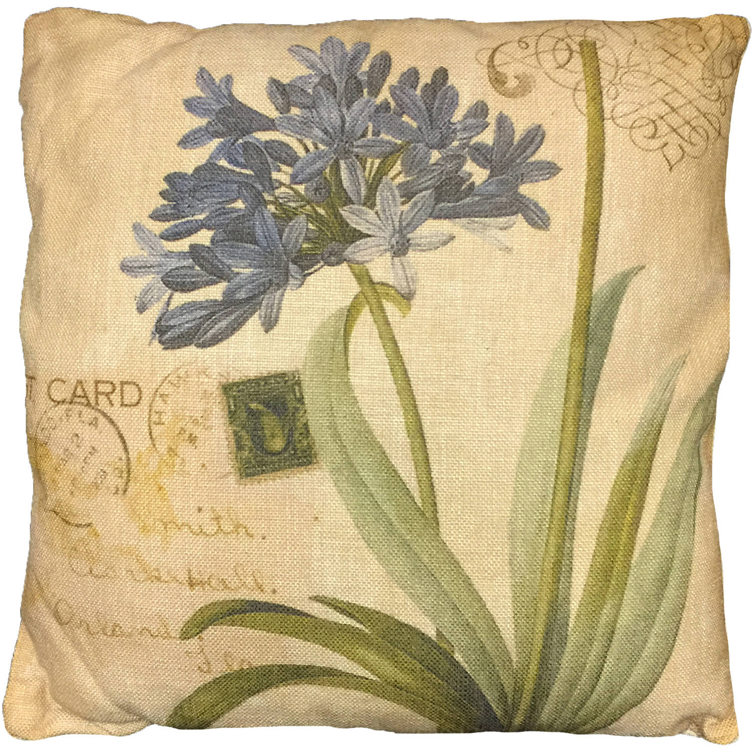 Creative Motion Cushion with Flower Design