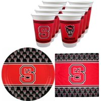 NC State Wolfpack Party Supplies - 48 pieces (Serves 16)
