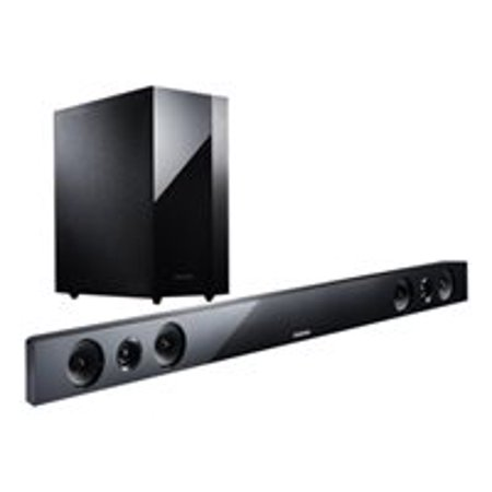 Samsung Hw F450 2 1 Channel Home Theater Sound Bar With Wireless Subwoofer And Bluetooth