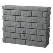 Exaco 105 Gallon Brick Wall Rain Barrel