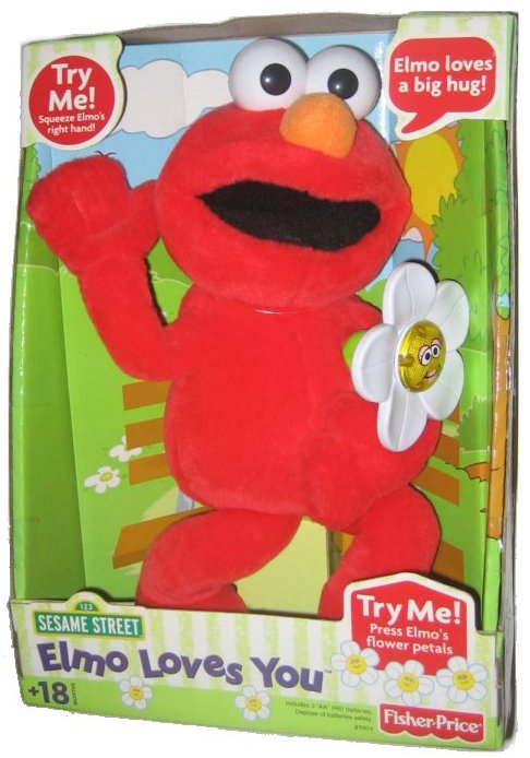 Fisher Price Elmo Loves You by FISHER PRICE