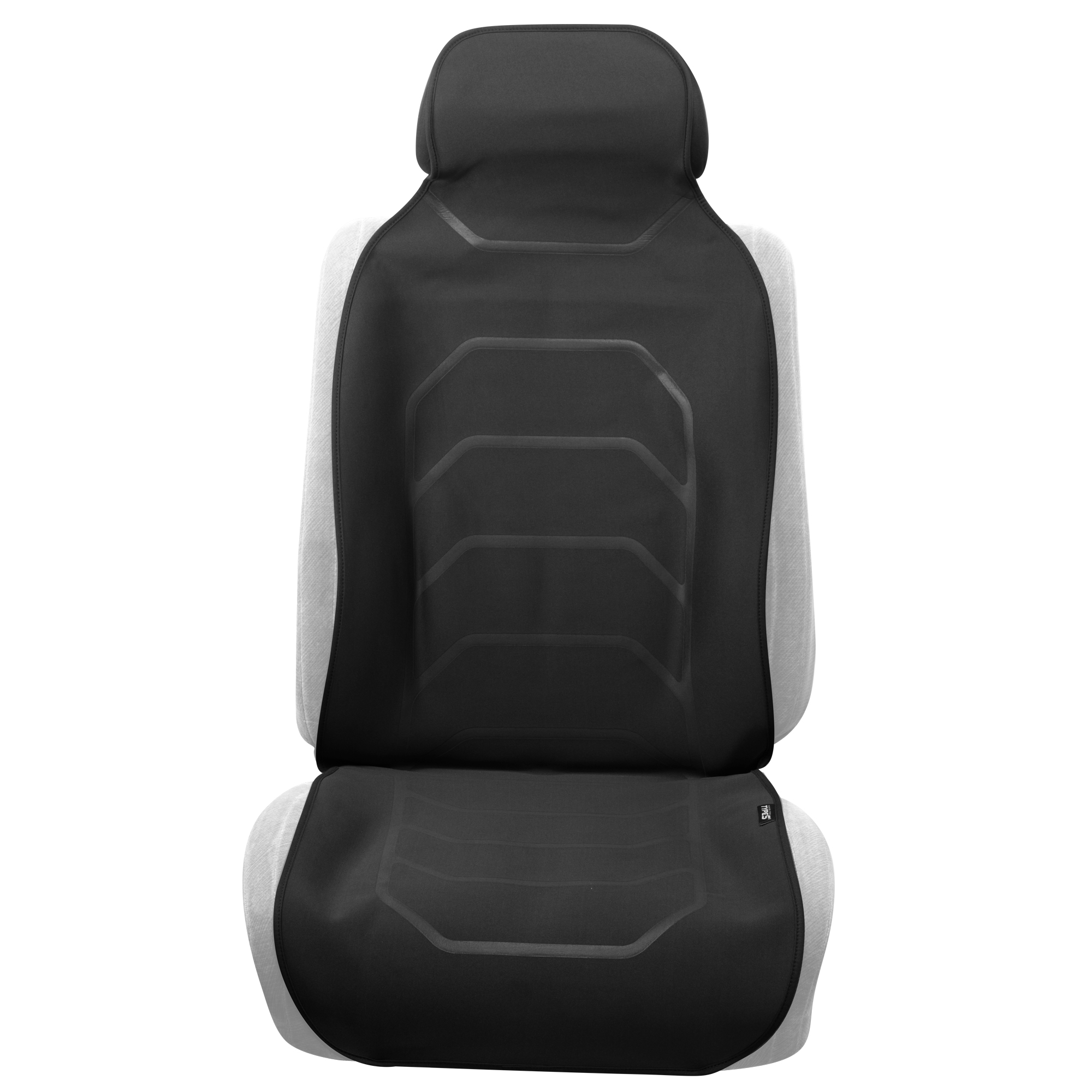 Heavy Duty Water Resistant Front Seat Covers//Protectors 1+1 tech automotive Citroen DS4 11-ON Black S
