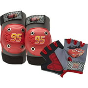 Bell Sports Disney Cars Protective Pad and Glove Set, Red/Gray
