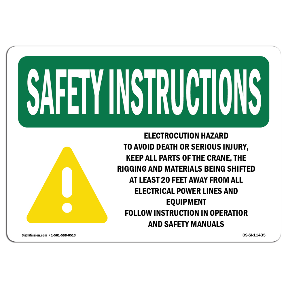 Osha Safety Manual Requirements Ebook Elenco Snap Circuits Electromagnetism Walmartcom Array Instructions Sign Electrocution Hazard To Avoid With Rh Walmart Com