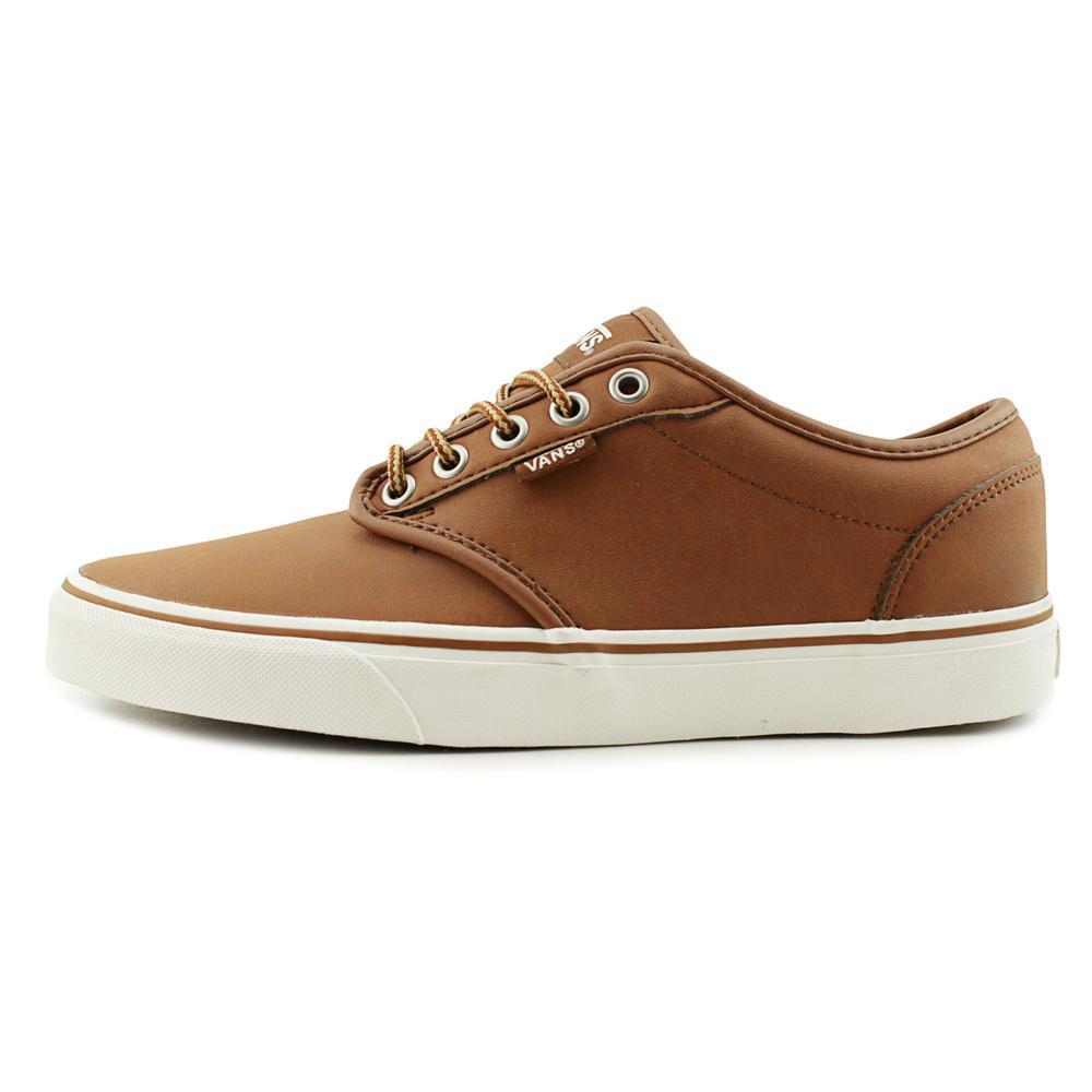 vans vans vans atwood sbires orteil chaussures synthétiques raie brun 22a821