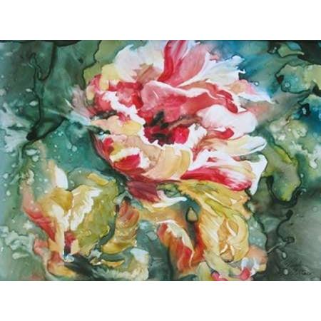 (Parrot Tulips II Poster Print by Paula Giltner)