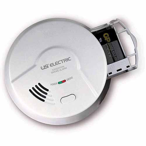 Universal Security Instruments 5304 Hardwired Ionization Smoke and Fire Alarm