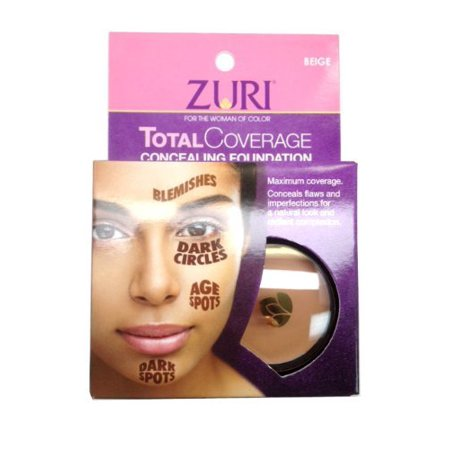 Beige Total Finish Foundation (Zuri Total Coverage Concealing Foundation 0.14 oz/4g (Beige) )