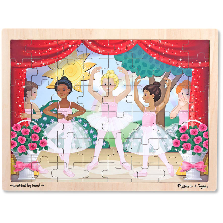 Melissa & Doug Ballet Performance Wooden Jigsaw Puzzle, 48pc