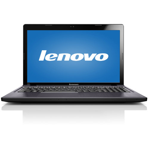 "Lenovo Black 15.6"" IdeaPad Z585 59345307 Laptop PC with AMD Dual-Core A6-4400M Processor and Windows 8 Operating System"