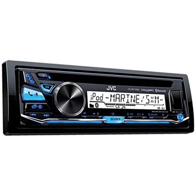 JVC KDR97MBS Marine Digital Receiver with Bluetooth - Black