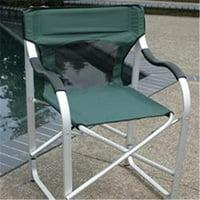 Deluxe Director Chair - Green