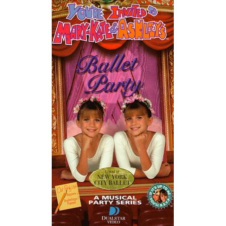 You're Invited to Mary-Kate & Ashley's Ballet Party [VHS], By Ashley Olsen Actor MaryKate Olsen Actor Rated NR](Mary Kate And Ashley Olsen Halloween Movie)