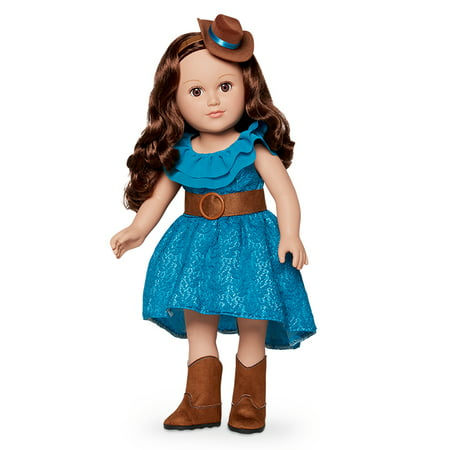 My Life As 18-inch Cowgirl Doll, Brunette