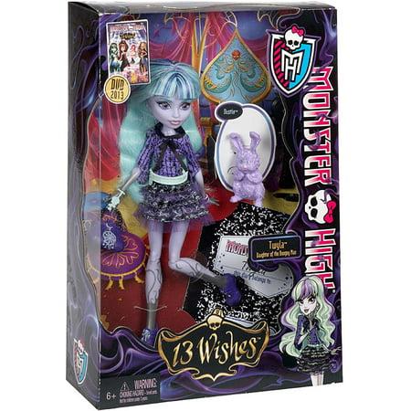 Remarkable Monster high 13 wishes dolls consider