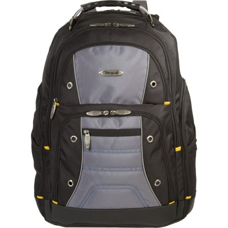"""Targus TSB239US Carrying Case (Backpack) for 17"""" Notebook Black, Gray Water Resistant Base Nylon Shoulder... by"""