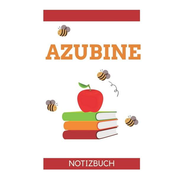Azubine Notizbuch : A5 TAGEBUCH Geschenk zur Ausbildung ...