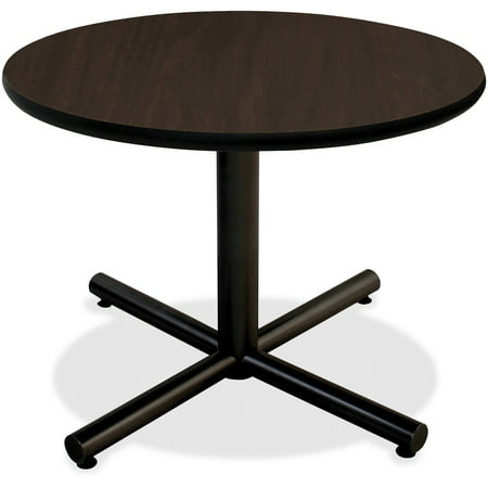 Lorell, LLR62576, Hospitality Espresso Laminate Round Tabletop, 1 (Lorell Round Tabletops)