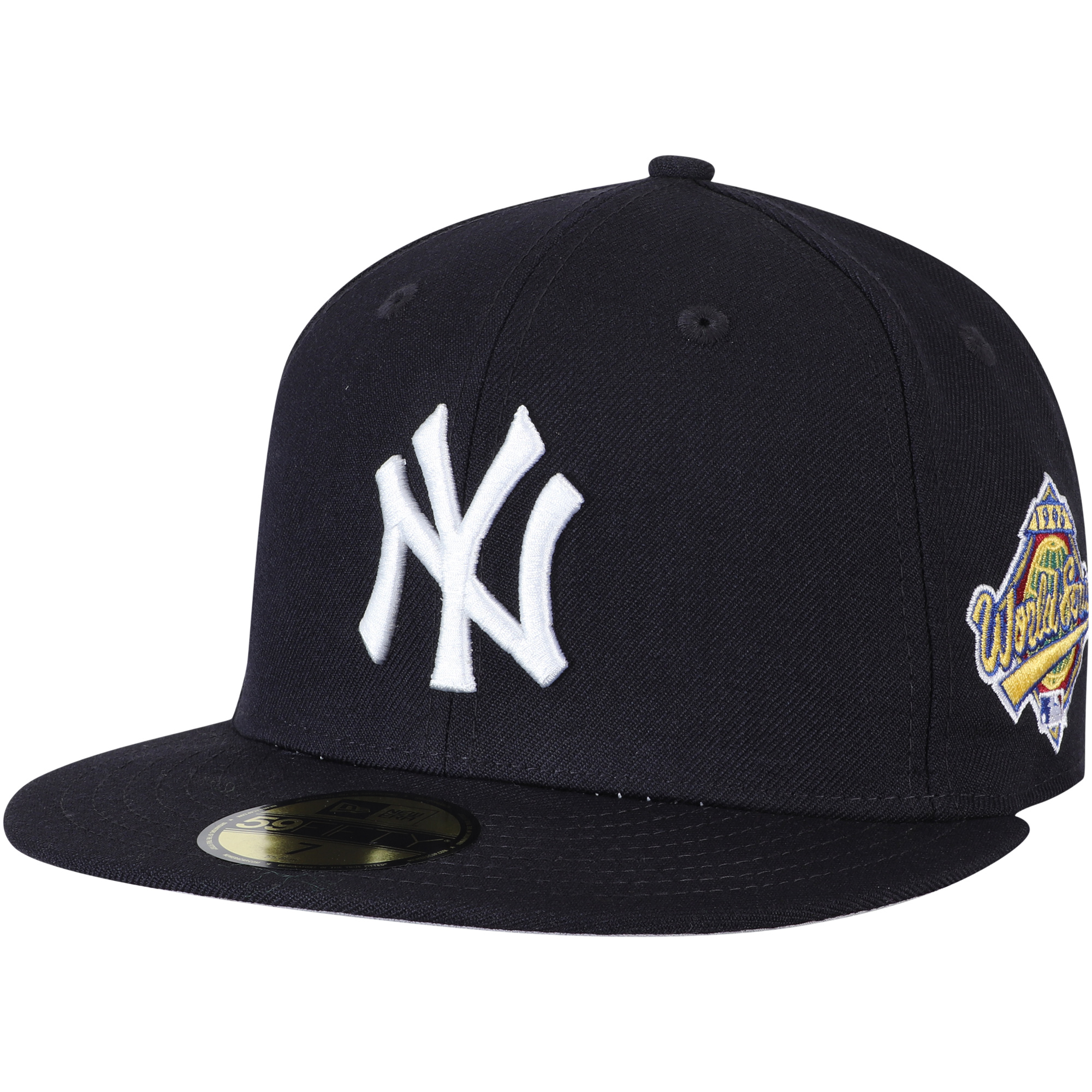 New York Yankees New Era 1996 World Series Wool 59FIFTY Fitted Hat - Navy