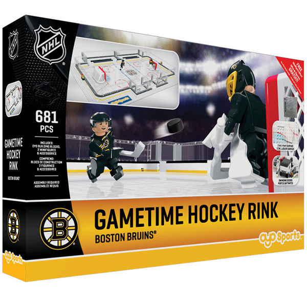 Boston Bruins OYO Sports Full Rink Set - No Size