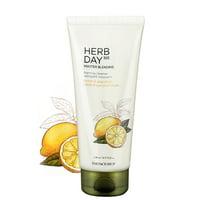 [ The Face Shop ] Herb Day 365 Master Blending Foaming Cleanser - Lemon & Grapefruit 5.7 fl oz (170 ml)