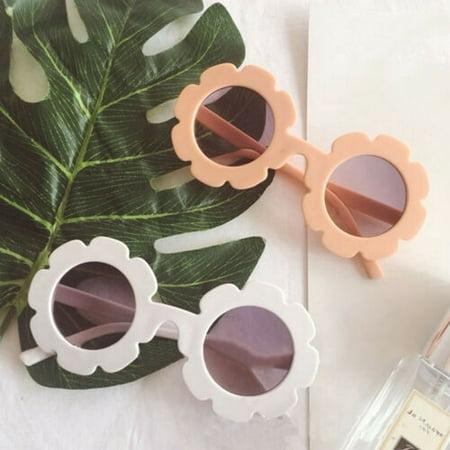 New Cute Sun Flower Sunglasses for Children, High-Quality Sun Flower (Quality Sunglasses)