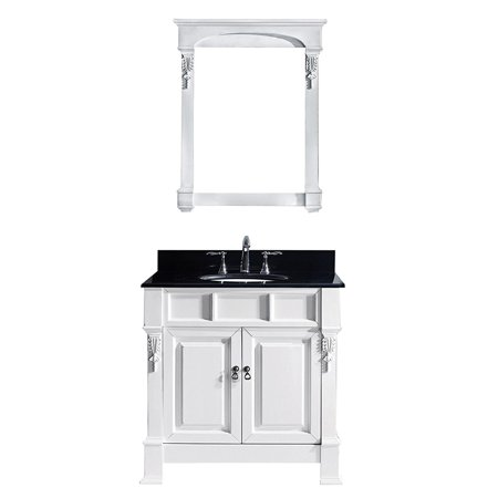 Virtu Gs 4036 Bgro Wh Huntshire 36 Inch Single Bathroom Vanity Set In White