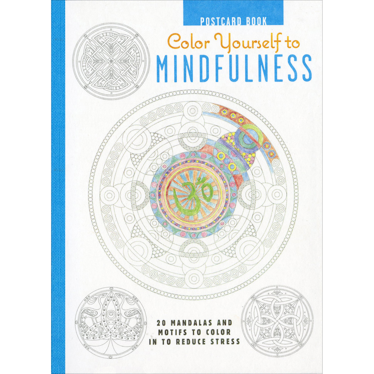 Cico Books-Color Yourself To Mindfulness Postcards