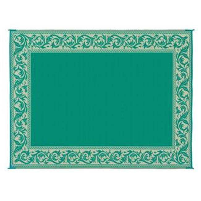 MINGS MARK RA4 Classical Mat 9x12 Green, Beige