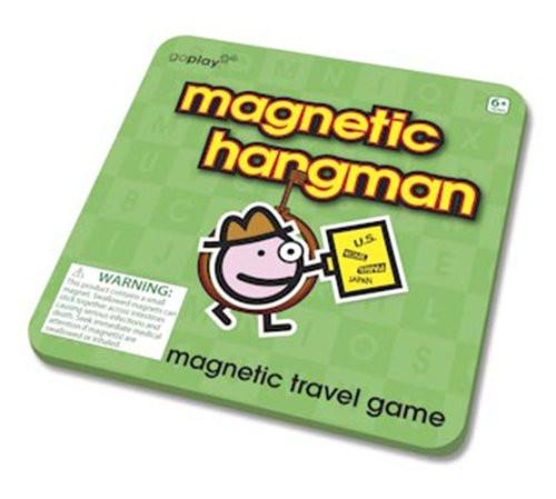 Toysmith - 8159   Go Play: Magnetic Hangman Travel Game - image 1 of 1